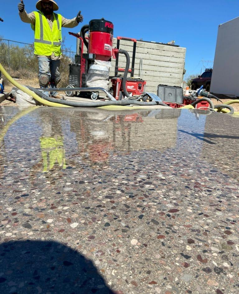Polished Concrete Work in Phoenix, AZ